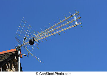 TV antenna - Digital terrestrial television antenna, over a...