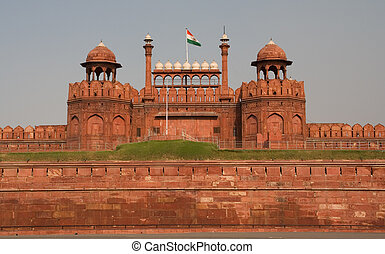 Front Gate Red Fort India - Lahore front gate, Red Fort,...