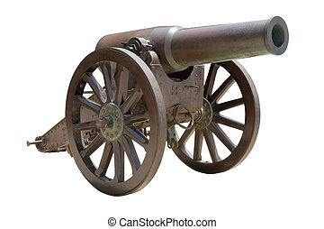 Spanish howitzer cannon - Ancient Spanish howitzer cannon (...