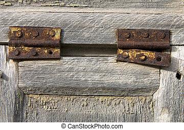 oxidado, bisagras