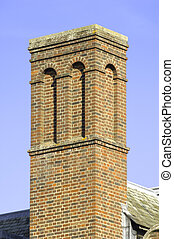 University of Cambridge, St John' college chimney
