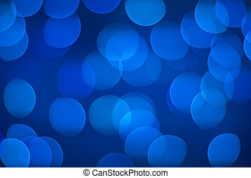 Defocus background. - Defocused blue lights.