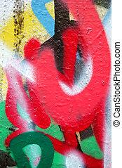 graffiti layers