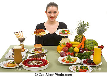Healthy Choice - Do the right thing! Choose healthy foods...