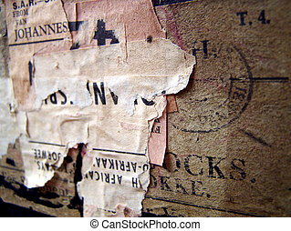 Travel Case Stamps and Labels - One of a series of images of...