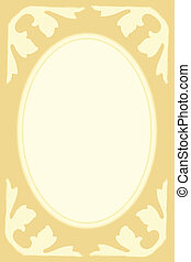 Picture frame - Yellow picture frame