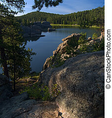 Above Sylvan Lake - Sylvan Lake, Custer State Park .. in the...