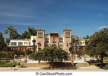 Building in Sevilla Spain