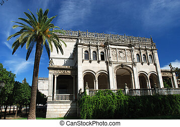 Building in Sevilla Spain - Beautiful building of the...