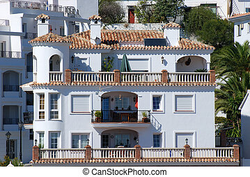 Residential houses in southern Spain