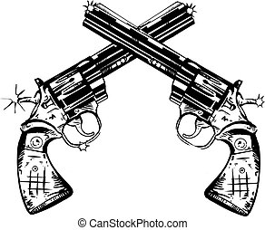 mano, armas de fuego