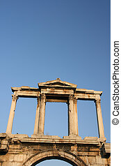 hadrian arch - handrian arch landmarks of athens greece...