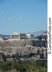 rock of parthenon
