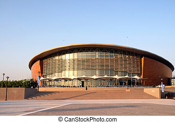 taekwon do stadium - view of the tae kwon do stadium in...