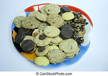 cookies and treats platte - platter of cookies and treats...
