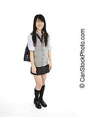 japonaise, écolière