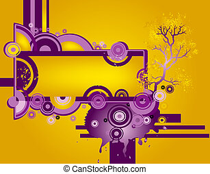 abstract design - abstract composition, design with circles