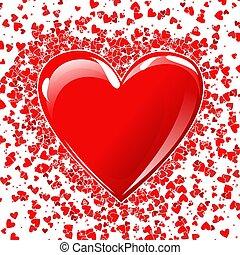 Heart - heart ackground