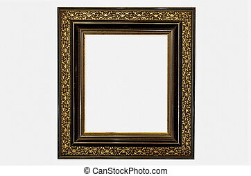 Old Picture Frame Gold an