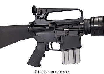 máquina, arma de fuego, detalle