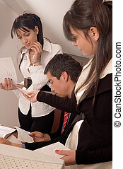 Business people - Group of professional business people at...