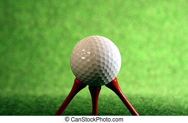 Very pegged golfball - Pegged golfball for those who need...