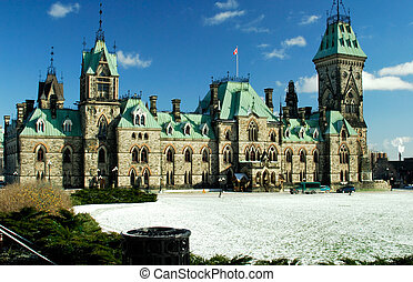Canadian Parliament East Wing - East Wing Building Of The...