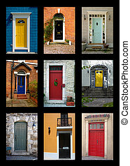 Front Doors - Collection Of House Front Doors From Around...