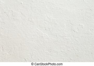 Rugged white wall - Detail of a rugged white wall suitable...