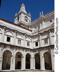 Saint Vincent church - The cloister of the Igreja de Sao...