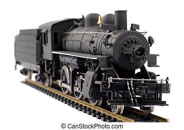 Toy Train - Scale Model Of An Old Fashioned Locomotive Steam...