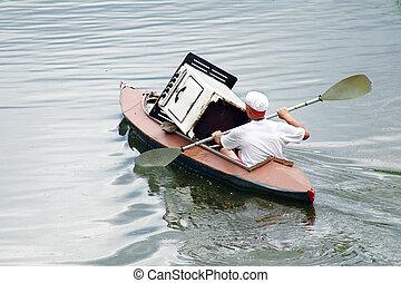funny canoe - Funny canoe. Grushinskiy festival, Samara,...