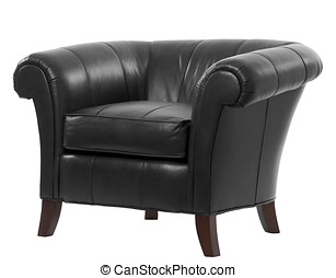 leather arm chair - expensive leather arm chair with...