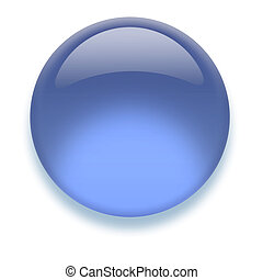 Aqua button - Shiny transparent high-resolution Aqua button...