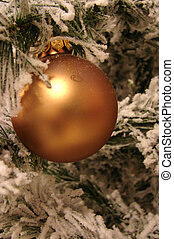 Christmas decoration - christmas decoration with pine and...
