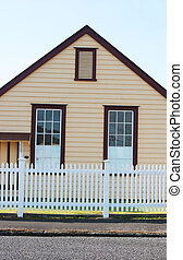 Historical building in Thames, New Zealand - travel and...