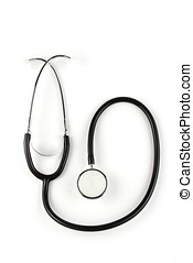 Stethoscope - A stethoscope in plain white background