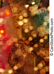 Christmas mood - Christmas doll in the assorted colours...