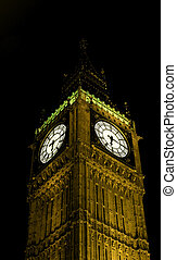 London - big ben clock - The seat of government for the Uk...