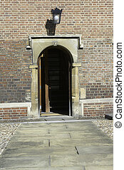 University of Cambridge, Permbroke college doorway