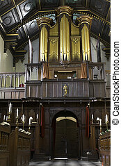 University of Cambridge, Peterhouse college chapel -...