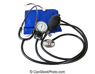 Sphygmomanometer - Blood pressure cuff and sphygmomanometer