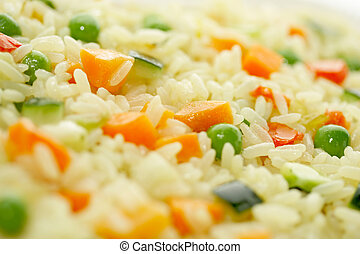 Rice and Vegetables - 2 - Tasty meal meatless