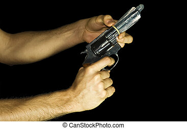 seguro, arma de fuego
