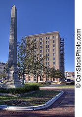 Downtown Pensacola - Downtown square historic dictrict...
