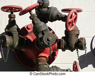 Industry Fire Hydrant - Industry fire hydrant connection on...