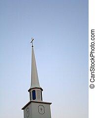 Church Steeple - A church steeple