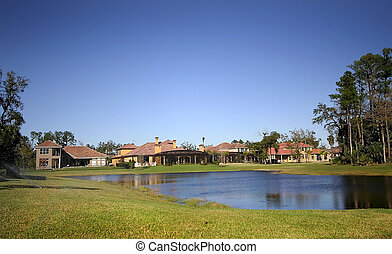 Golf Course Neighborhood - Beautiful golf course community...