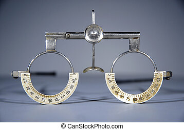 Optometrist trial frame - Optometrists Opticians empty trial...