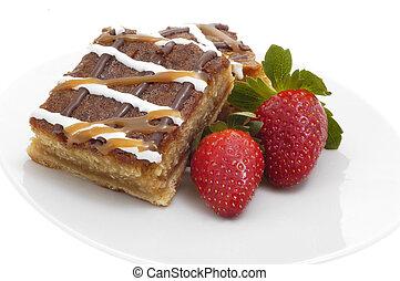 Caramel Crunch Dessert - Delicious caramel crunch dessert...
